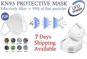 50pcs KN95 Face Mask Mouth Cover Medical